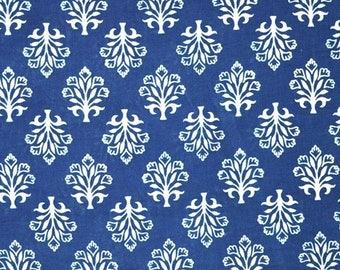 10% Off On Indigo and White Traditional Indian Cotton Fabric