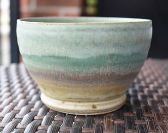 Beautiful Handmade Fiesta Chawan Tea Bowl & Artisan Japanese Matcha Green Tea, matcha set, chawan, fine matcha teaware