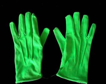 Men's Dress Gloves - Green