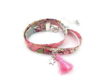 Bracelet Liberty pink
