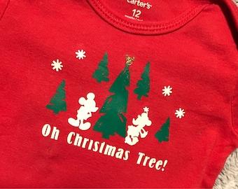 Oh Christmas Tree Onesie
