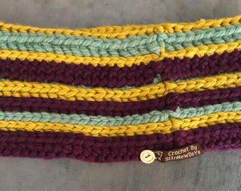 Crochet Snood Cowl Neck Warmer