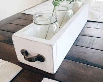 Mason Jar Farmhouse Tray