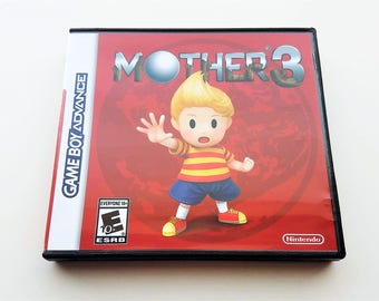 Mother 3 (Case + Game) English Fan Translation - Earthbound  Nintendo Game Boy Advance GBA Custom Cart
