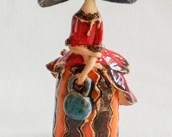 Céramic figurine
