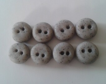 Granite Polymer Clay Buttons