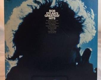Bob Dylan's Greatest Hits - Vintage LP Vinyl Record - 1976 Columbia Records