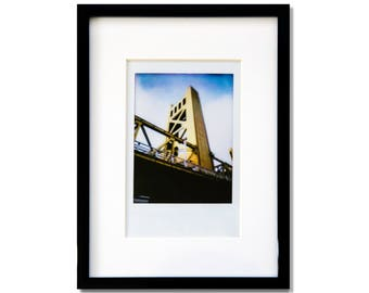 "Fine Art Photography ""Tower Bridge"" Framed Instax Mini Print"