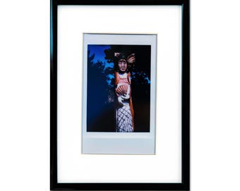 "Fine Art Photography ""Cayuga"" Framed Instax Mini Print"