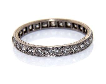 Antique diamond eternity ring, eternity ring, diamond eternity ring, antique eternity ring, diamond ring, gold diamond eternity ring