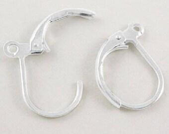 50 silver Stud Earrings (25 pairs)