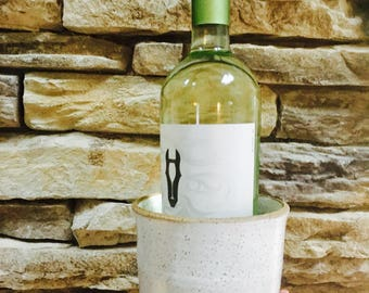 Wine chillerWine CoolerWedding Gifts|Gifts ready to goWine|Ceramic Chiller|Ceramic Crock|Wine Crock|Wine Gifts|White Pottery|Wine Lover Gift