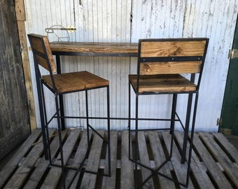 Furniture Table and stools Vintage