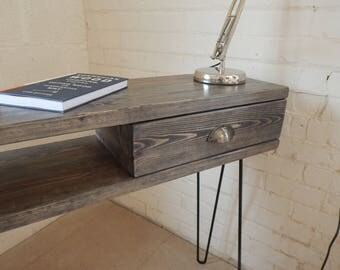 Rustic console table Etsy