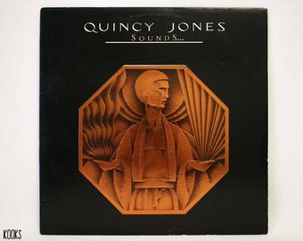 Quincy Jones- Sounds...And Stuff Like That!! LP (1978, US 1st Pressing)