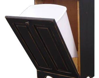 Rustic Vintage Tilt Bin