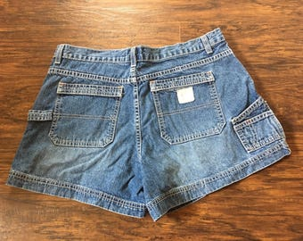 Vintage 90s High Waisted American Eagle Shorts mom jeans Sz 12