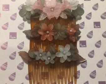 Beautiful Flower Hair Combs