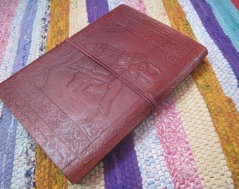 Handmade Blank paper Notebook, Leather Diary, Leather Journals Notebook, Daily Planner Notebook, Handmade Journals, Books Binders
