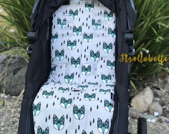 Ready to ship reversible stroller liner baby jogger city mini GT BJGT2