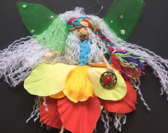 Fairy Doll Dream Catcher Wendy Worry Doll bad dreams nightmares