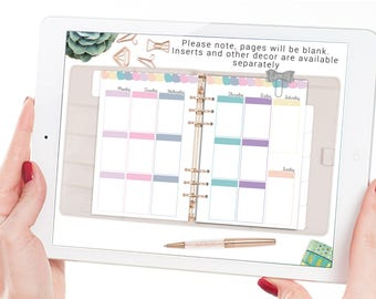 Rose Gold Digital planner for Goodnotes - iPad & iPhone