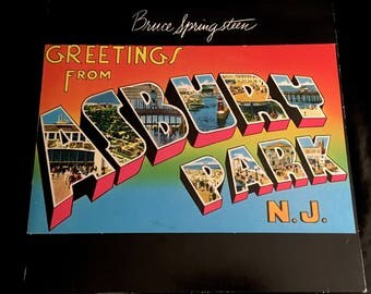 Vintage Vinyl: Bruce Springsteen-Greetings From Asbury Park