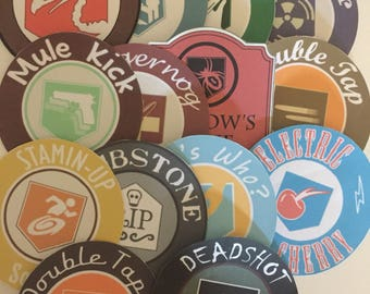 14 call of duty zombies perk stickers