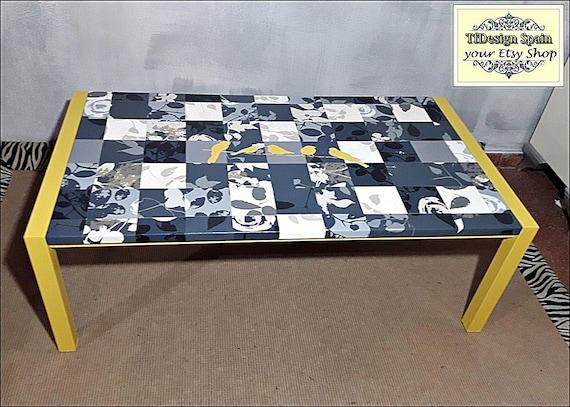 Coffee Table buy, Coffee table design, Coffee table alternatives, Coffee table contemporary, Coffee table Etsy, Coffee table grey / yellow