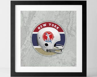 Vintage NFL: New York Giants-inspired