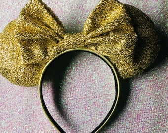 Gold Disney ears