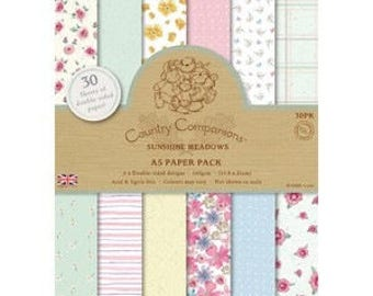 """Set of 32 papers """"Dovecraft"""" CONTRY COMPAGNIONS two pockets"""