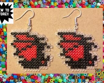 Castlevania Vampire Bat Hama Earrings