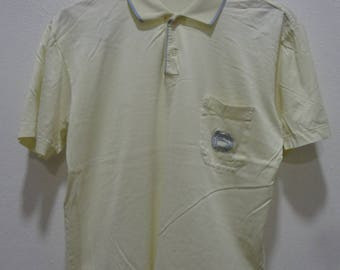 Vintage 80s LONGCHAMP paris brand designer t shirt Made in ITALY Size 52