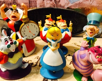 Storewide 45% off Sale Alice in Wonderland Frozen Tangled and More Cake Toppers/Figurines Individual Characters