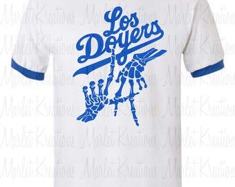 Custom Dodger tees