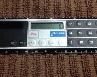 Medical Heart Chart Ruler Calculator Lilly Pharmaceutical Solar Powered