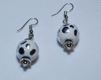 White and silver studs