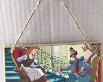 Disney Cinderella Hanging Plaque