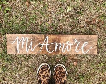Wooden Sign | 2ft x 4 in | Custom | Handlettered | Calligraphy | Decor