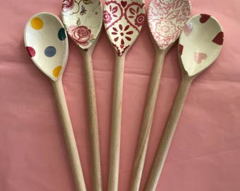 Decorative Spoons Emma Bridgewater Style Designs