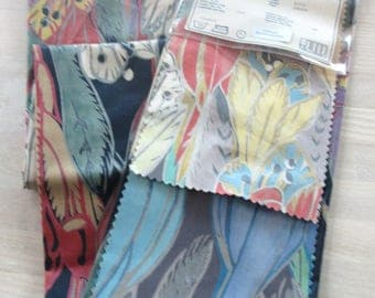 VINTAGE BOY LECOMTE UPHOLSTERY FABRIC SAMPLES