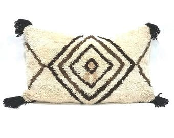 "20""× 28"" XL Moroccan rug pillow cover"