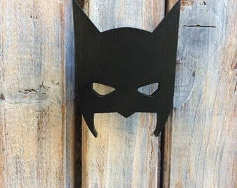 Wooden wall hanging / wall hook / wooden hooks / Batman hook