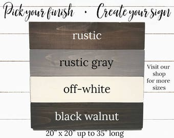 Create Your Own Sign Etsy