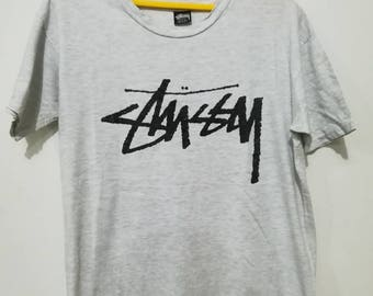 Rare vintage stussy spell out t-shirt L size