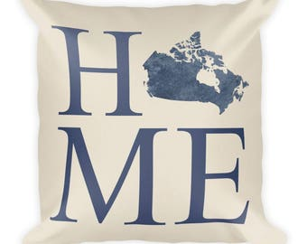 Canada Pillow, Canada Gifts, Canadian Decor, Canada Home, Canada Throw Pillow, Canada Art, Canada Map, Canada Cushion, Canadian Art