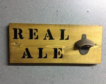 Real Ale Bottle Opener
