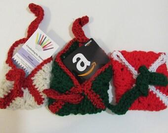 Crocheted Gift Card  or cash Holder