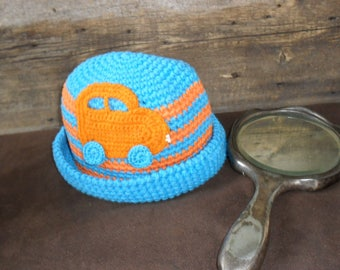 Sun hat for children 1-2 years.